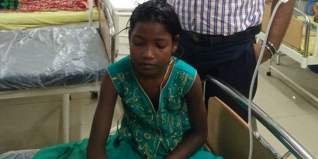 The girl is said to have recovered from her injury and has since been discharged.