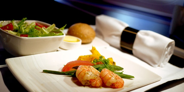The flight attendant revealed she had also gotten even with a rude passenger by sewing mashed prawns into the sleeves of his jacket.
