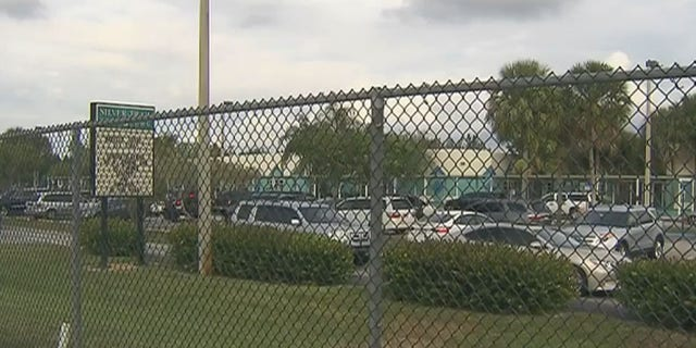 Silver Trail Middle School in Pembroke Pines, Florida. (WPLG-TV)
