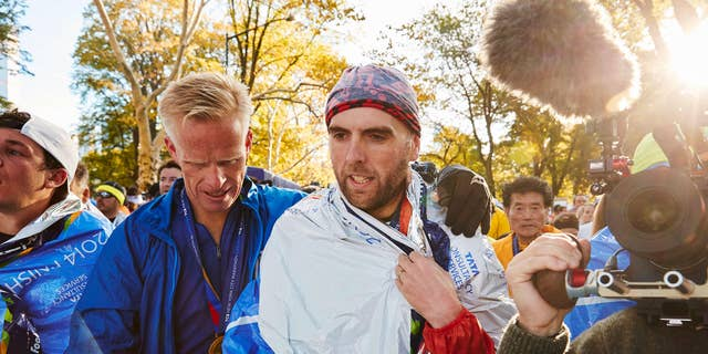 Simon Wheatcroft finished the 2014 New York City Marathon in 5:13:18. PHOTOGRAPH COURTESY OF SIMON WHEATCROFT