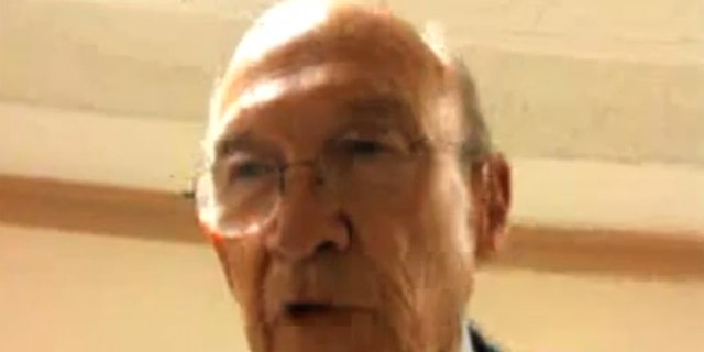 Shown here is Alan Simpson, co-chairman of the commission tasked with finding ways to cut the debt and deficit. (YouTube)
