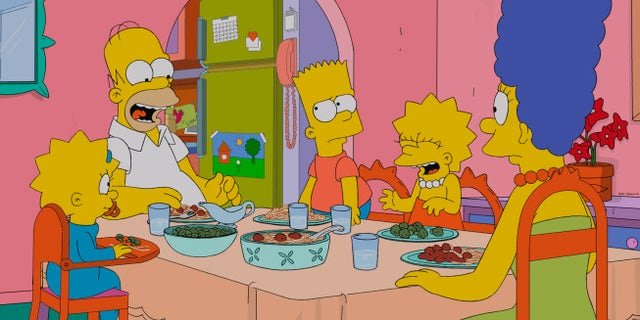 """Scene from """"The Simpsons."""""""