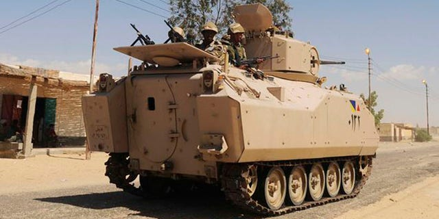 Israeli officials fear a cutoff of aid to Egypt could embolden the jihadist forces in the Sinai Peninsula. (AP)