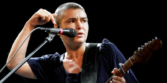 Irish singer Sinead O'Connor performs on stage during the Positivus music festival in Salacgriva July 18, 2009. REUTERS/Ints Kalnins/File Photo - RTSEJH9