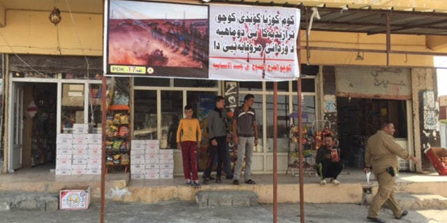 Much of Sinjar is deserted and in ruines, but an estimated 170 families have moved back.