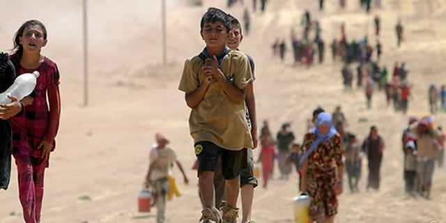 The exodus from Mount Sinjar in August, 2014, has left the Yazidi community scattered and devastated.