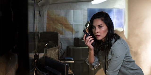 Olivia Munn revealed she comes from a military family.