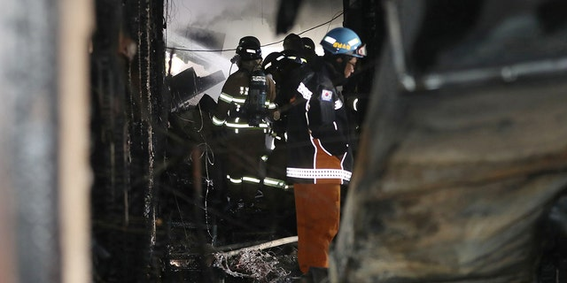 Most of the deaths appeared to be due to suffocation, with only one suffering burns, said an official at the National Fire Agency.