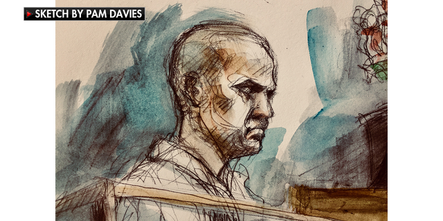 Alek Minassian appeared in court on Tuesday and was charged with first-degree murder.