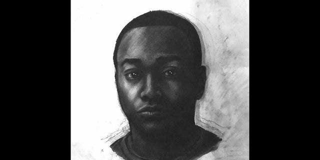 Investigators released this sketch of the suspect.