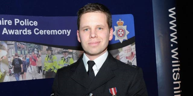 Detective Sergeant Nick Bailey was released from the hospital on Thursday.