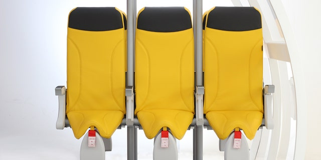 """""""Thanks to this seat, we are able to increase the number of passengers by 20 percent with a consequent increase in profits for airline companies,"""" claims the company behind the Skyrider."""