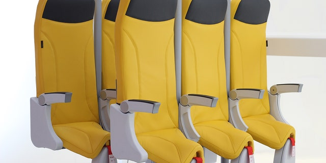 Aviointerior's new design was unveiled at the Aircraft Interiors Expo 2018 last week.