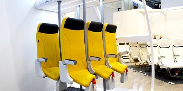 Italian seat manufacturer Aviointeriors has proposed its new Skyrider 2.0 model.