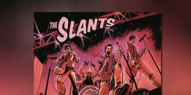 Cover art for the most recent album release from The Slants.