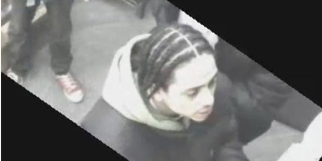 Surveillance photo shows man wanted in Feb. 7 slashing attack in the Bronx.