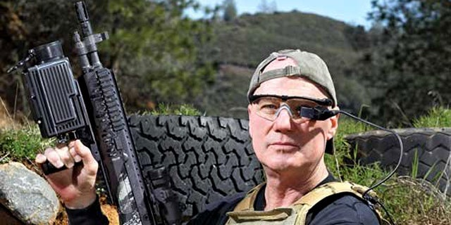 """Inventor Matthew Hagerty's SmartSight allows soldiers to accurately shoot around corners. """"Fifty percent of kills happen on the corners,"""" he says."""