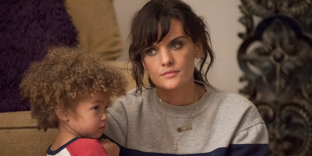 """Frankie Shaw stars as single mother, Bridgette in """"SMILF."""" The creator and actress originally offered the role of her mother to Roseanne Barr."""