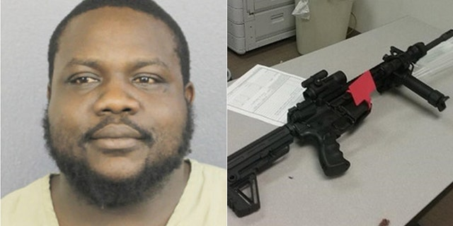 "Jerron Smih, 31, of Deerfield Beach, Fla., had his AR-15 semiautomatic weapon confiscated, becoming the first person to have his guns seized under Florida's 2018 ""red flag"" law.."