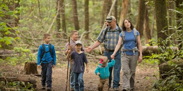 Summer Family Hikes.