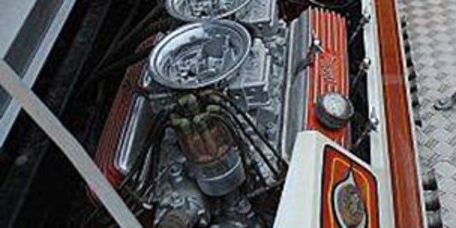 6 Ford 351 V8s put out a combined 2,000 horsepower. At least they did when the car ran.