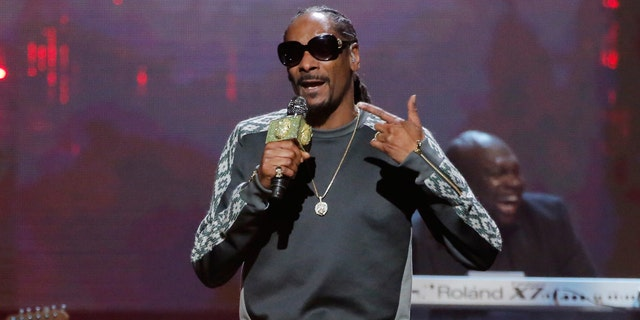 Snoop Dogg performs at the 32nd Annual Rock & Roll Hall of Fame Induction Ceremony in New York City, on July 4 2017.