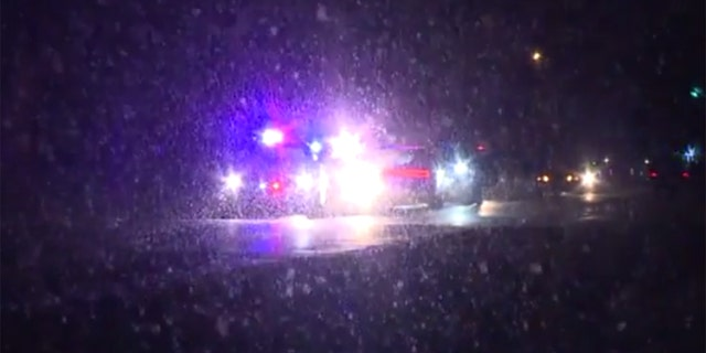 Williams was arrested after a brief pursuit during a snowstorm.