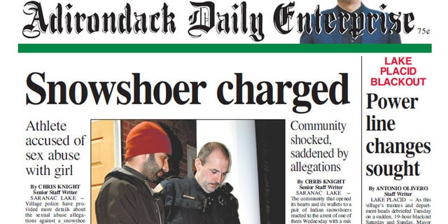 The arrest made headlines in upstate New York.