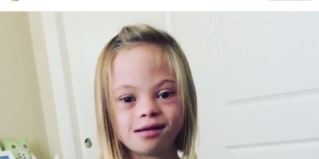 Sofia Sanchez is helping to spread an important message about Down syndrome.
