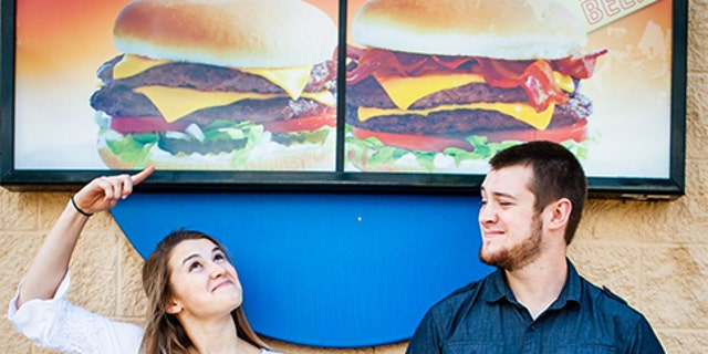 The photographer said the quirky location made perfect sense after hearing the couple's story.