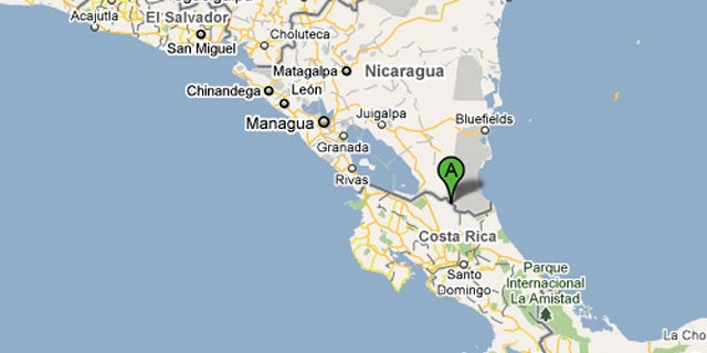 An error in a Google Map showing a disputed border between Costa Rica and Nicaragua may have led to an invasion.