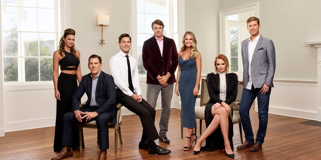 "The cast of Bravo's ""Southern Charm."""