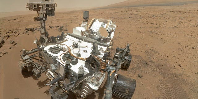 NASA released this selfie by the Mars rover Curiosity in November 2012, just four months after the robot touched down on the Red Planet.