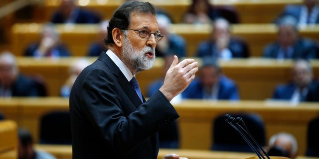 Spanish Prime Minister Mariano Rajoy received permission from the Senate of Spain to dissolve Catalonia's parliament and fire the government.