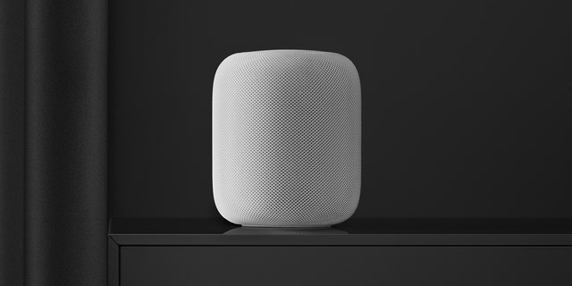 "Apple users can play music ""in any room from any room"" by using an iOS device, a HomePod or Apple TV."