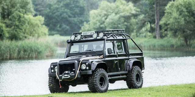 The Land Rover Was Recently Auctioned By Bonhams