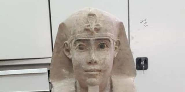 Experts are now studying the sphinx statue (Egyptian Ministry of Antiquities)