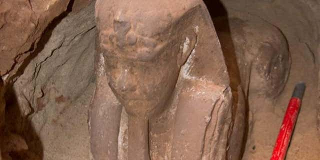 The sphinx statue discovered at the Kom Ombo temple (Egyptian Ministry of Antiquities)