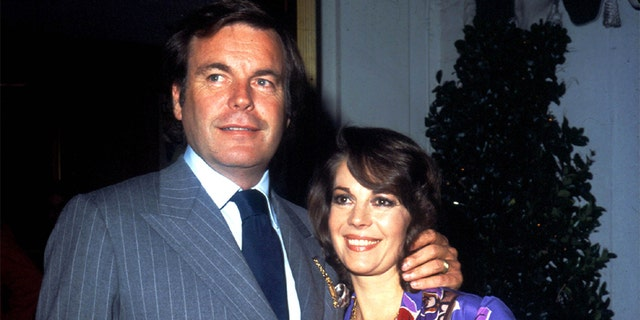 Robert Wagner and Natalie Wood.