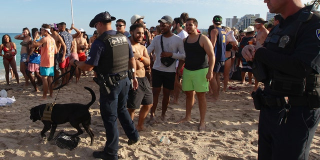 """""""The spring break days of the past aren't that way anymore,"""" Fort Lauderdale Chamber of Commerce President Dan Lindblade said."""