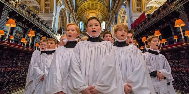 The boy choristers of St. Paul's Cathedral will be performing Monday at the National World War II Museum in New Orleans to commemorate the 60th anniversary of the American Memorial Chapel in London.