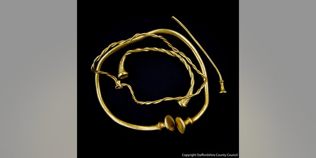 The Leek Frith Torcs (Staffordshire County Council).