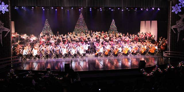 An undated photo of the Concord Community Schools' Christmas Spectacular. (Courtesy Concord Community Schools)