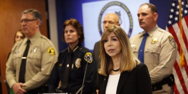 District Attorney Summer Stephan of San Diego County.