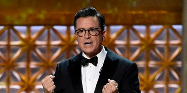 Stephen Colbert has increased his ratings for his late show.