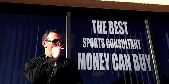 Steve Stevens, who run VIP Sports in Las Vegas, declined comment when reached by FoxNews.com early Wednesday regarding claims of a winning percentage exceeding 70 percent and his prior conviction in a telemarketing scam. (YouTube.com)