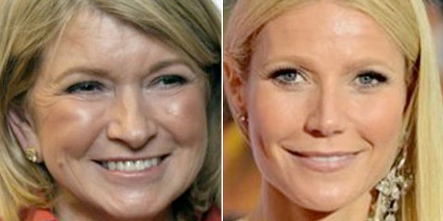 Martha Stewart, 72, said Gwyneth Paltrow, 41, with her popular GOOP website and best selling cookbook, is just walking in her footsteps.