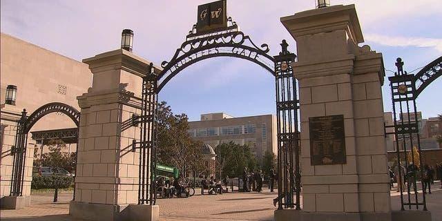 The campus of George Washington University.