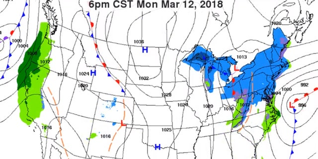 A possible nor'easter may bring more snow and wind to the Northeast, the third storm in less than two weeks.
