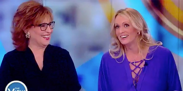 """""""The View"""" co-host Joy Behar chatted up adult film star Stormy Daniels on the Disney-owned ABC News talk show."""